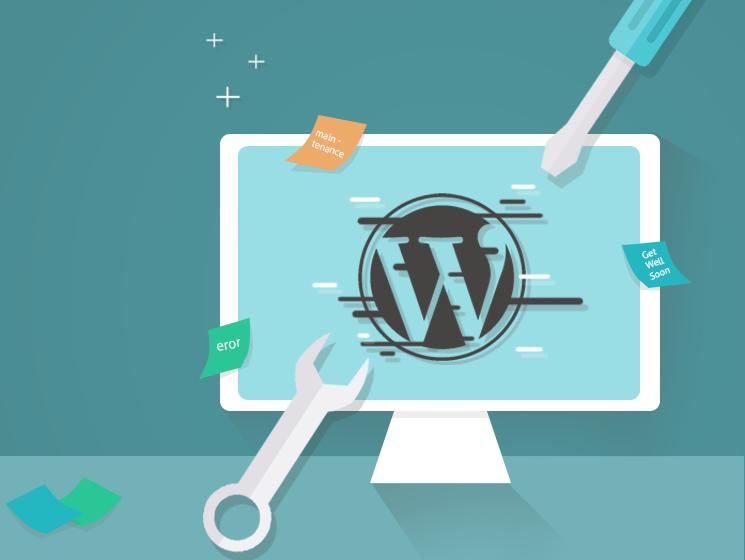 WordPress underhåll